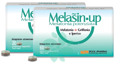 Pool Pharma Melasin Up Integratore Alimentare 20 Compresse