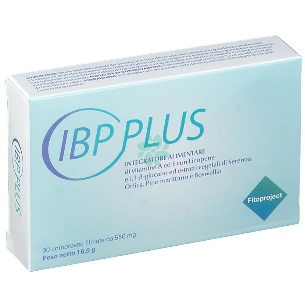 Fitoproject IBP PLUS Integratore Alimentare 30 Compresse