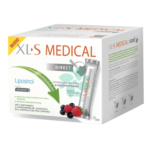 XLS Medical Liposinol Direct Dispositivo Medico, 90 Bustine