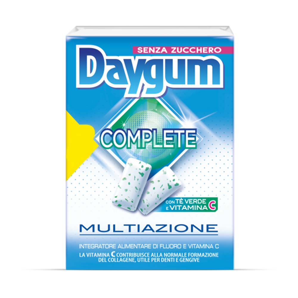 Perfetti Van Melle Daygum Complete Chewing Gum Multiazione, 20 Chewing Gum