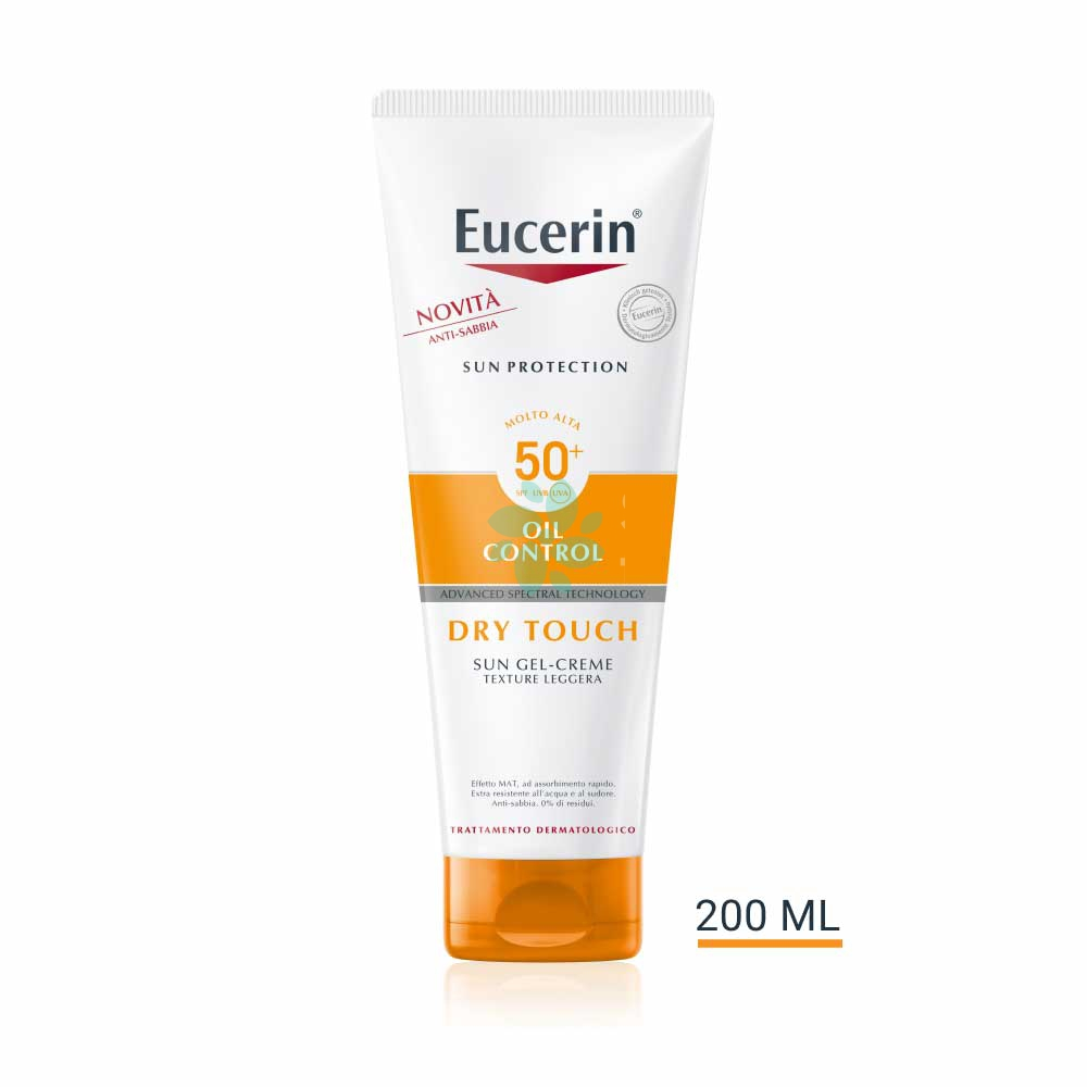 Eucerin Sun Protection - Oil Control Dry Touch Gel Crema SPF50+, 200ml