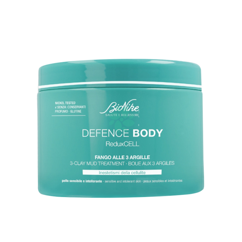 Bionike Defence Body - ReduxCELL Fango Anti-Cellulite Alle 3 Argille, 500ml