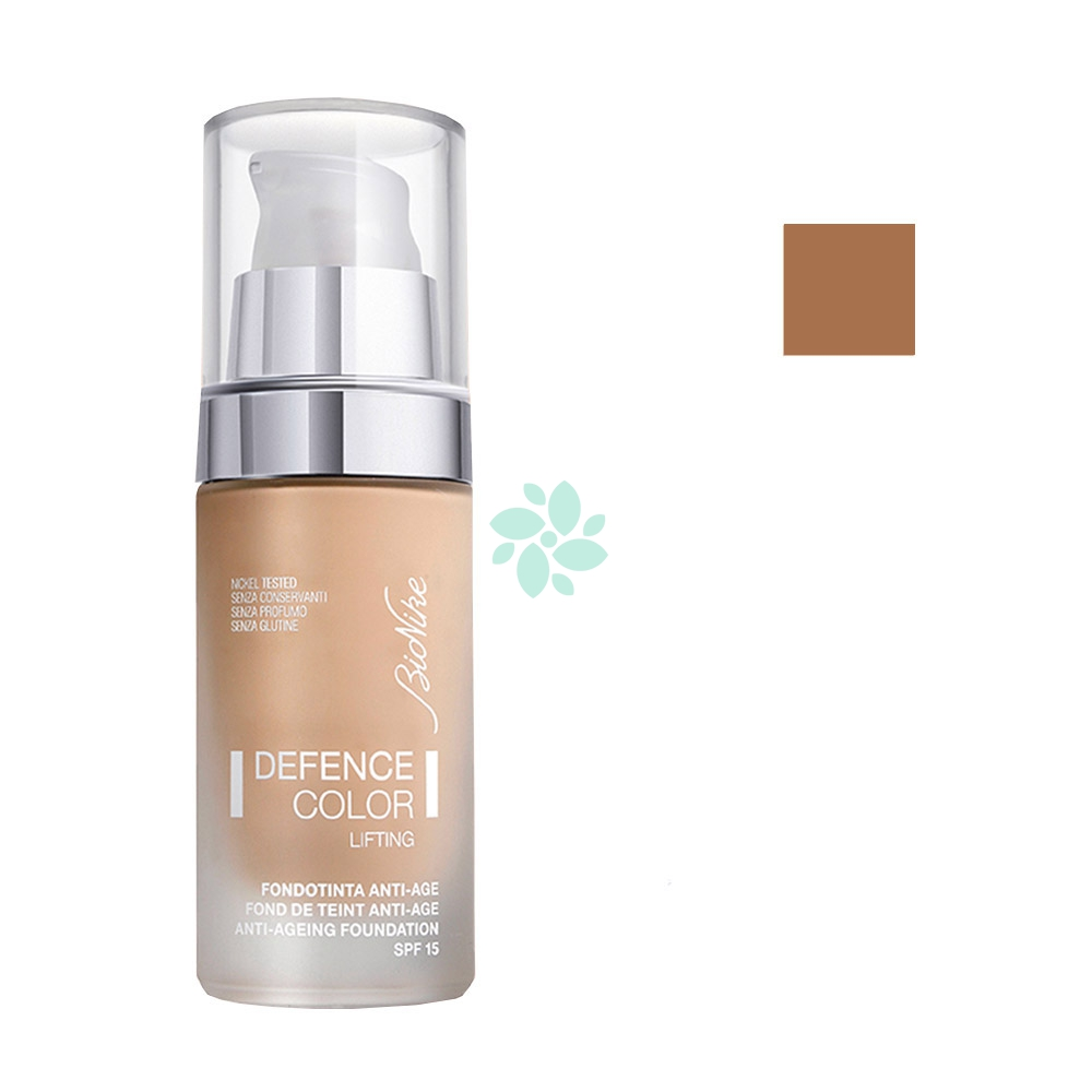 Bionike Defence Color - Lifting Fondotinta Anti-Age SPF15 N. 205 Cognac, 30ml