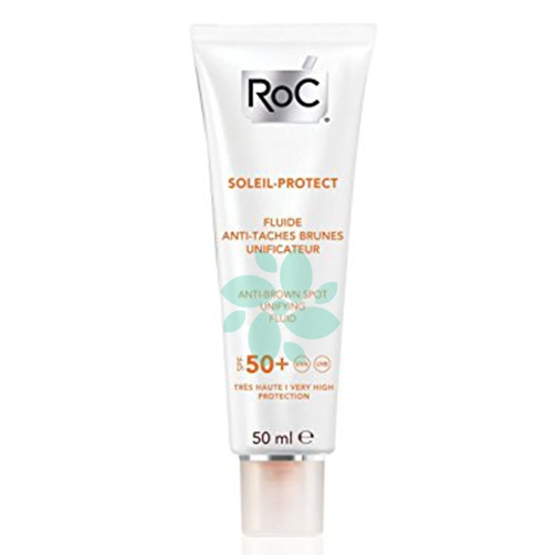 Roc Soleil Protect Fluida Anti Macchie Brune SPF50+ Uniformante Viso 50 ml