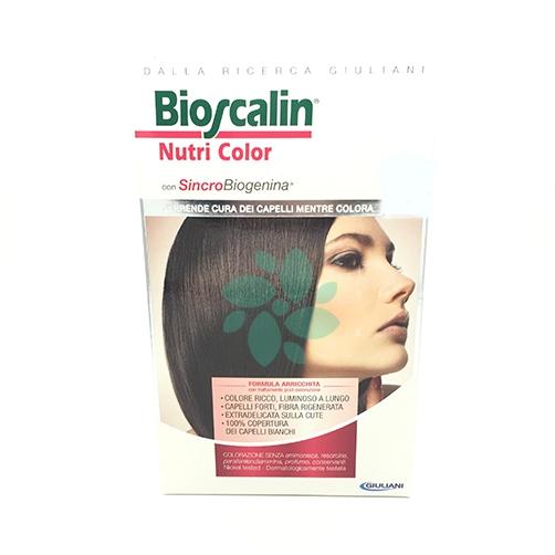 Bioscalin Nutri Color Colorazione Permanente Colore 5 Castano Chiaro d49563e99d90