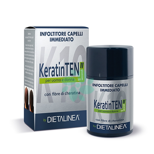Dietalinea Keratin Ten Infoltitore Capelli Immediato N4 Ramato 12 g
