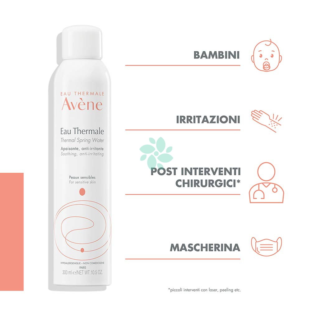Avène Eau Thermale Acqua Termale Spray, 300ml