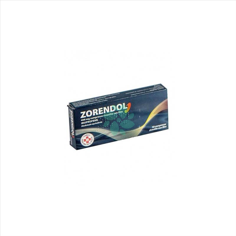 Zorendol 400 Mg Compresse Rivestite Con Film 10 Compresse In Blister Pvc/Al