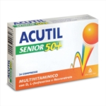 Acutil Multivitaminico Senior 50+ Integratore, 24 compresse