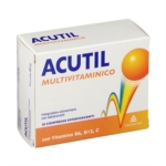 Acutil Multivitaminico Integratore Alimentare 20 compresse
