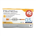 Pic Insumed - Siringa Per Insulina 0.5ml G29 x 12.7, 30 Pezzi