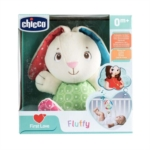 Chicco First Love - Carillon Peluche Fluffy Coniglietto