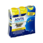 Acutil Fosforo Energy Shot Integratore Energia Mentale Pronto da Bere 3 x 60ml