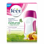 Veet Easy Wax - Kit Scaldacera Elettrico Roll On Tiarè E Argan