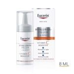 Eucerin Hyaluron-Filler Vitamin C Booster Luminosità Siero Anti Age 3 x 8 ml