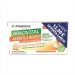 Arkopharma Arkovital - Acerola Boost Integratore Alimentare, 24 Compresse