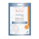 Avene A-Oxitive - Maschera in Tessuto Antiossidante, 1 Maschera Monouso