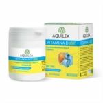 Aquilea Vitamina D 1000 Integratore per l'Assorbimento del Calcio, 100 compresse