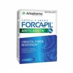 Arkopharma Forcapil Anticaduta Integratore per Capelli e Unghie, 30 Compresse