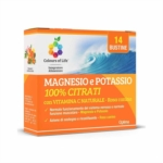 Optima Naturals Colours Of Life - Magnesio e Potassio 100% Citrati, 14 Bustine