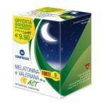 Linea Act Integratore per il sonno Melatonina e Valeriana, 60 compresse