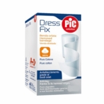 Pic Dress Fix Benda Orlata Puro Cotone In Garza Idrofila 7X5 m