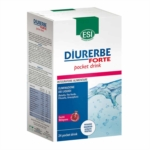 ESI Diurerbe Forte Pocket Drink Integratore Alimentare Melograno 24 Pocket Drink