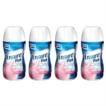 Ensure Plus Gusto Fragola Strawberry 4X200 ml