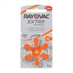 RAYOVAC Extra Advanced Batterie Modello 13 Per Digital Air PR48 6 Pezzi