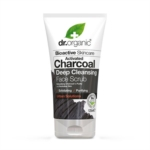 Dr. Organic Activated Charcoal Face Scrub, 125ml