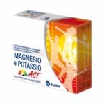 Linea Act Magnesio e Potassio Integratore Alimentare, 14 bustine