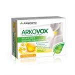 Arkopharma Arkovox Miele Limone Gola e Voce, 24 Caramelle
