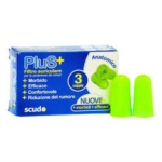 Pasquali Earplug Scudo Plus Tappi Auricolari 3 Coppie