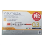 Pic Insumed Siringa Per Insulina 0 3 ml 31G x 8 mm 30 Siringhe