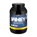 Enervit Gymline Muscle 100% Whey Proteine Concentrate Integratore Banana 900 g