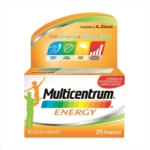 Multicentrum Energy Integratore Multivitaminico Multiminerale 25 Compresse
