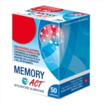 Linea Act Memory Act Integratore Alimentare 50 Compresse