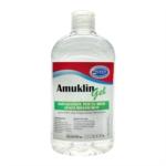 Amuklin Gel Igienizzante Mani Senza Risciacquo ad Azione Battericida, 500ml