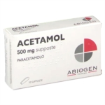 Acetamol 500 Mg Supposte 10 Supposte