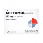 Acetamol Bambini 250 Mg Supposte 10 Supposte