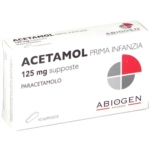 Acetamol Prima Infanzia 125 Mg Supposte 10 Supposte