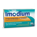 Imodium 2 Mg Compresse Orosolubili 12 Compresse