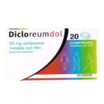 Dicloreumdol 25 Mg Compresse Rivestite Con Film 20 Compresse In Blister Pa/Pvc/Al