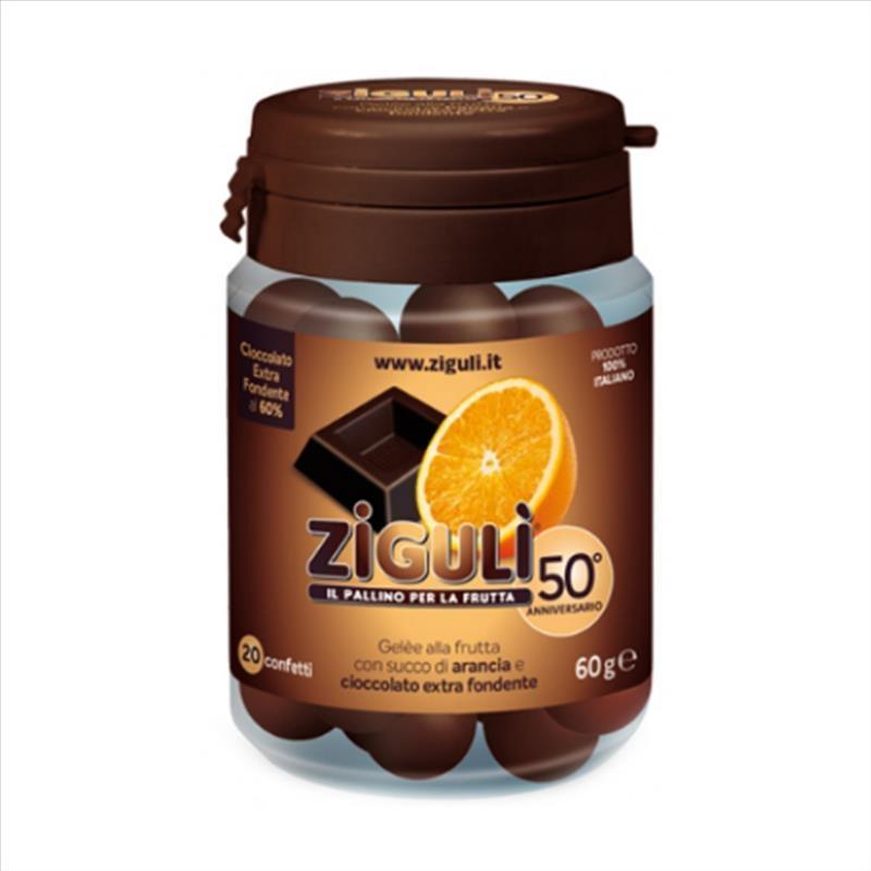 Zigulì Gelèe Arancia E Cioccolato Extra Fondente 20 Confetti SCAD 08/2020