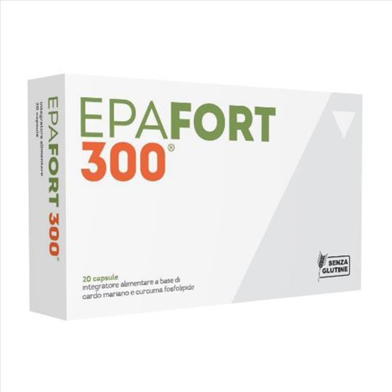 Agaton Epafort 300 Integratore Alimentare, 20 Capsule
