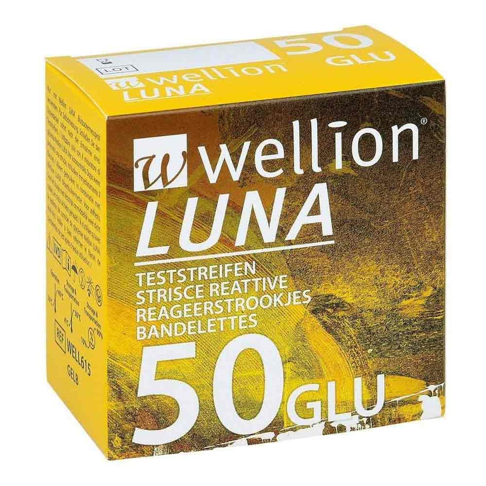 WELLION LUNA 50 Strips-925606865