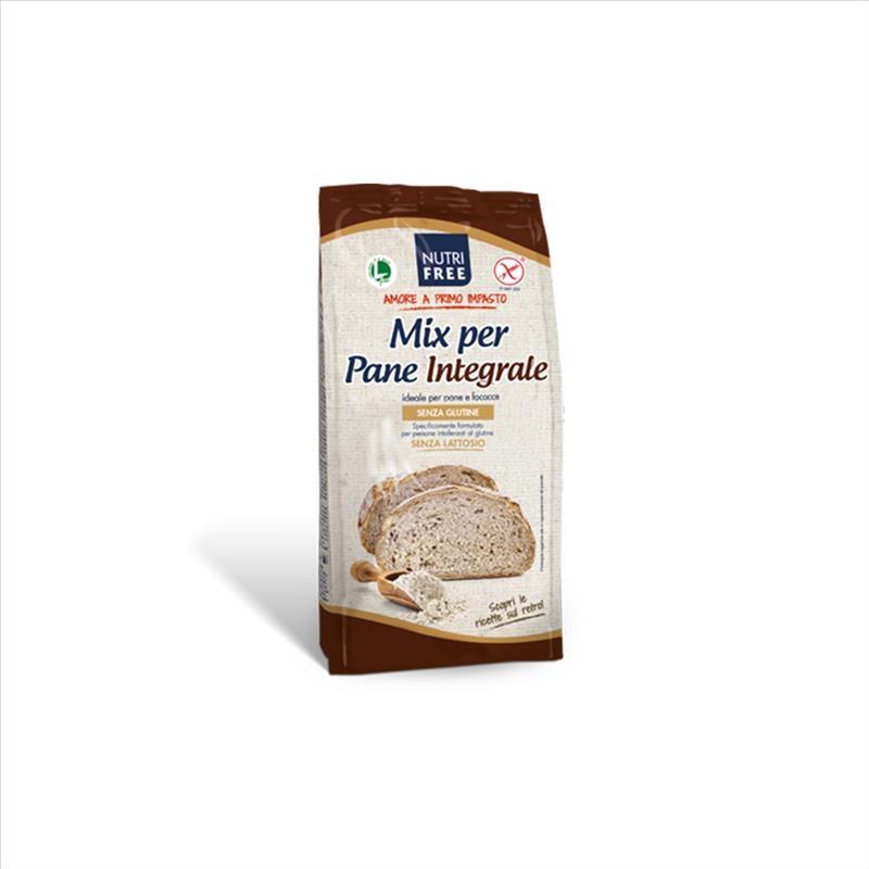 Nutrifree Mix Per Pane Integrale Senza Glutine, 1000g