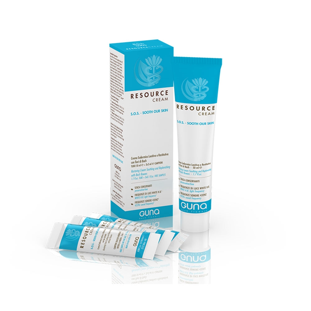 Guna Resource Cream Sos Crema Eudermica Lenitiva E Restitutiva, 50ml