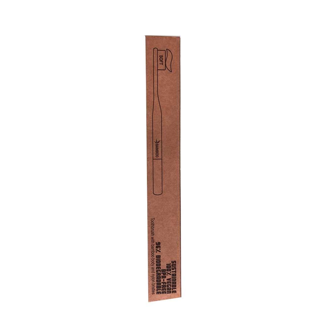 Alcea Toothbrush Spazzolino Da Denti Ecobio In Bamboo Soft Setole Morbide