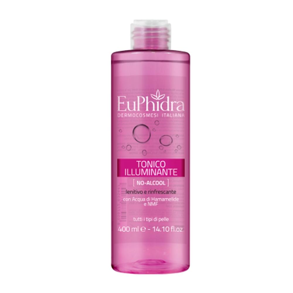 Euphidra Tonico Illuminante Lenitivo E Rinfescante No Alcool, 400ml